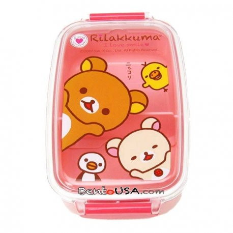 Microwavable 500ml Rilakkuma Bear Bento Lunch Box