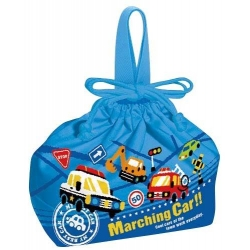 Bento Lunch Box Cloth Bag Vehicles