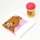Portable Bento Oshibori Hand Towel Set with Rilakkuma