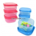 Microwavable Mini Sauce Dressing Dip Container for Bento Lunch