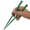 Japanese Bento Chopsticks Block Set Green