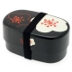 Microwavable Japanese Bento Box Lunch Black Plum