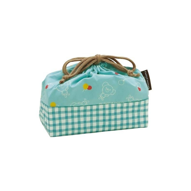 bento lunch box cloth bag bear blue for bento lunch bag. Black Bedroom Furniture Sets. Home Design Ideas