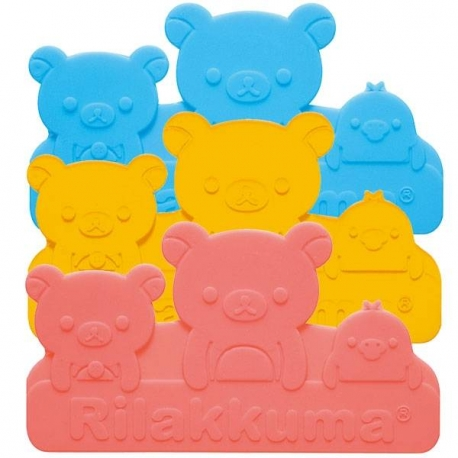 Silicone Japanese Bento Baran Sheet Reusable Bear Frog