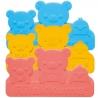 Silicone Japanese Bento Baran Sheet Reusable Bear Frog