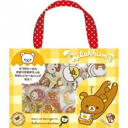 Rilakkuma Puffy Sticker Box Set
