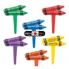 Food Decorating Pick Colorful Crayons Assorted