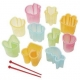 Japanese Bento Deco Ham Cheese Cutter Set 10 shapes