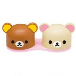 Rilakkuma & Korilakkuma Contact Lens Case