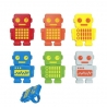 Food Decorating Party Ring Robot Robotic boys bento lunch