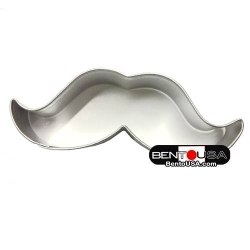 Bento Decoration Ham Cheese Cookie Cutter Mustache