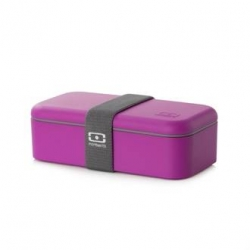 monbento bento Lunch box fuschia/white