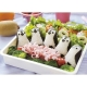 Baby 3D Penguin Bento Rice Mold and Seaweed Nori Cutter Set