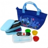 Microwavable Japanese Bento Box Lunch Box Set Cutlery and Bag Stitch