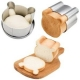 Japanese Loaf Pan Bread Mold - Cute Bear Shape