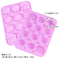 Silicone Frozen Yogurt Mold Chocolate Mold - Pig House