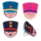 Food Decorating Party Ring Toy Soliders