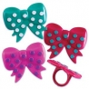 Food Decorating Party Ring Bow Bendi Rings