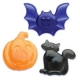 Food Decorating Party Ring Halloween Pumpkin Bat Cat Rings