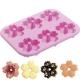 Silicone Small Doughnut Mold - Sakura Flower Shape