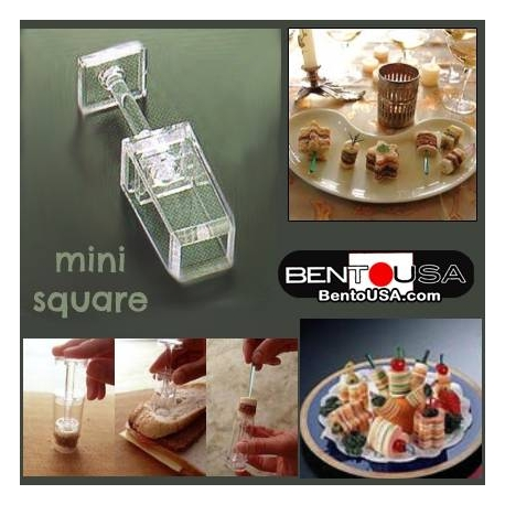 Sandwich in a Stick Maker - Bento Cutter make Lunch Fun