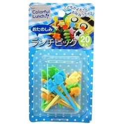 Japanese Bento Cute Food Pick 20 pcs Boy Tranportation