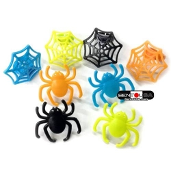 Food Decorating Party Ring Topper Spider