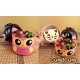 cuteZcute 2-tier Bento Lunch Box Set Baby Bento Buddies - Baby Night Owl