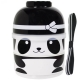 cuteZcute 2-tier Bento Lunch Box Set Baby Bento Buddies - Baby Ninja Panda