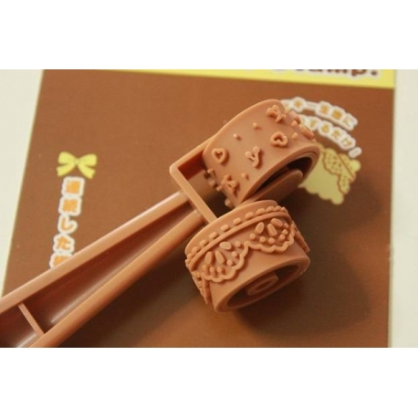 Deco Cookie Stamp And Fondant Roller Set