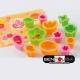 Japanese Bento Decoration Ham Cheese Cutter Set 12pcs with Baran