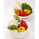 Coppo colander and Mixing Bowl 6 pcs 3 color set