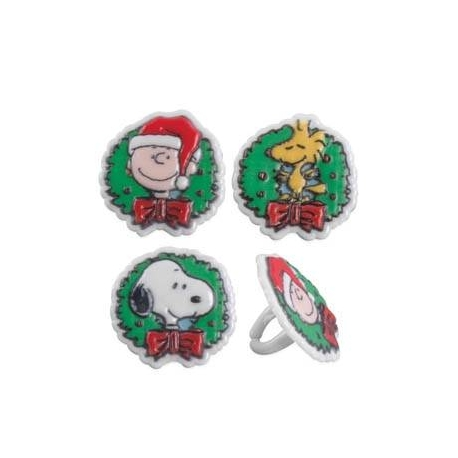 Food Decorating Party Ring Peanuts Snoopy Wreath