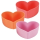 Bento High Quality Silicone Colorful Food Cups - Heart