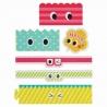 Microwavable Bento Baran Food Divider Sheet Set Eyes 18 pcs