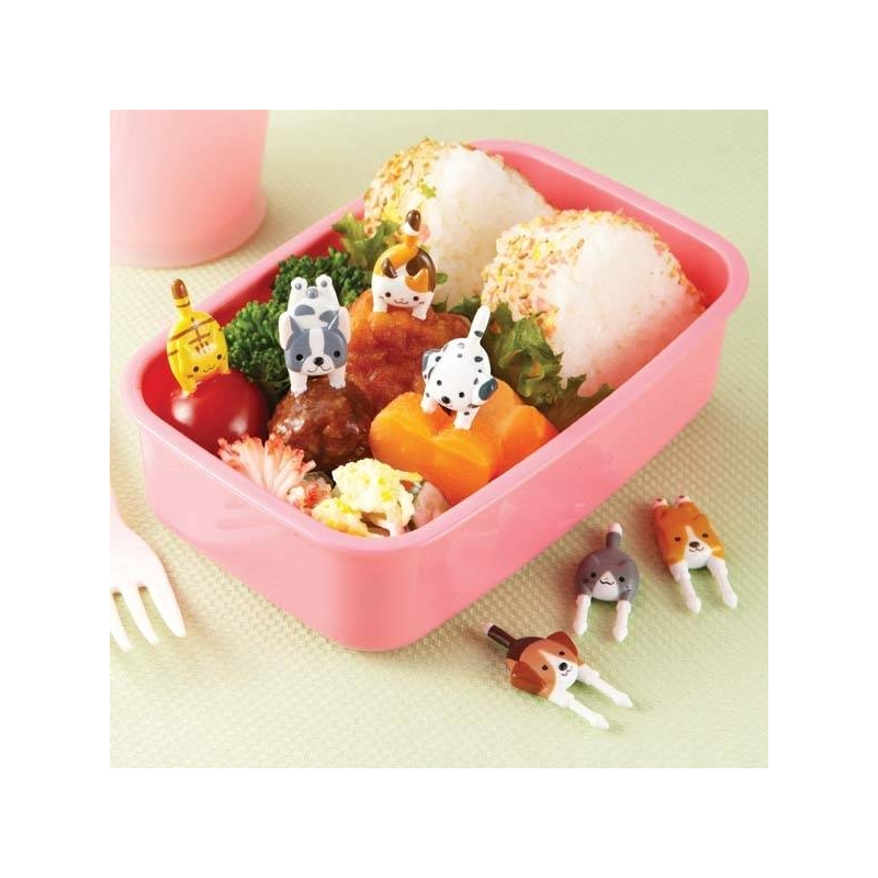 Japanese Bento Box Accessories Food Pick Cute Dogs And Cats