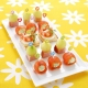 Japanese Bento Party Food Pick with Silicone Tip - Star