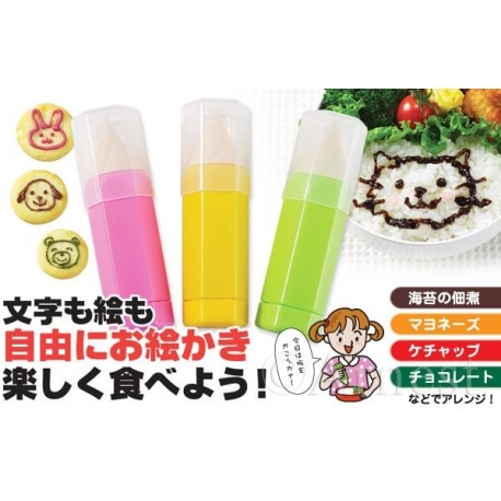 Bento Essential Deluxe Sauce Drawing Pen 3 Size Tips
