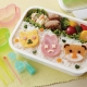 Bento Accessories Cookie Ham Cheese Cutter Animals and Faces