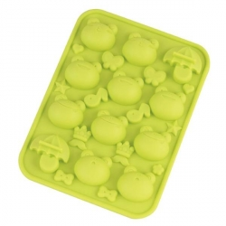 Silicone Frozen Yogurt Mold Chocolate Mold - Frog Crown
