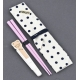 Japanese Bento Pink Chopsticks with Case and wrap Piggy