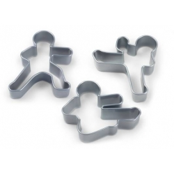 Cookie Cutter Set - Ninjabread Ninja Men in Action