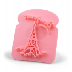 French Toast Bread Stamp - Paris Eiffel Tower