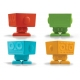 Bento Silicone Baking Food Cup Deluxe - Robot