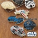 Official Star Wars Ship Cookie Cutter and Stamp Set