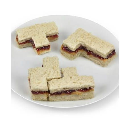 Sandwich Crust Cutter Bites and Pieces, Tetris Puzzle