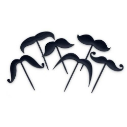 Mustaches Pick Set 18 pcs