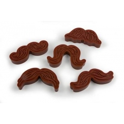 Mustache Cookie Cutter Stamp Set