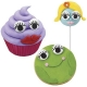 Bento Decoration Make fun with Cute Candy Eyeballs Large Eyelashes