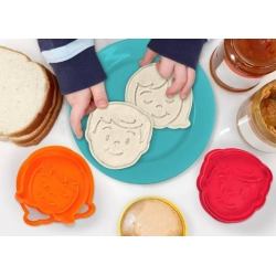 Sandwich Cutter and Stamp Kit - Bread Head Boy and Girl